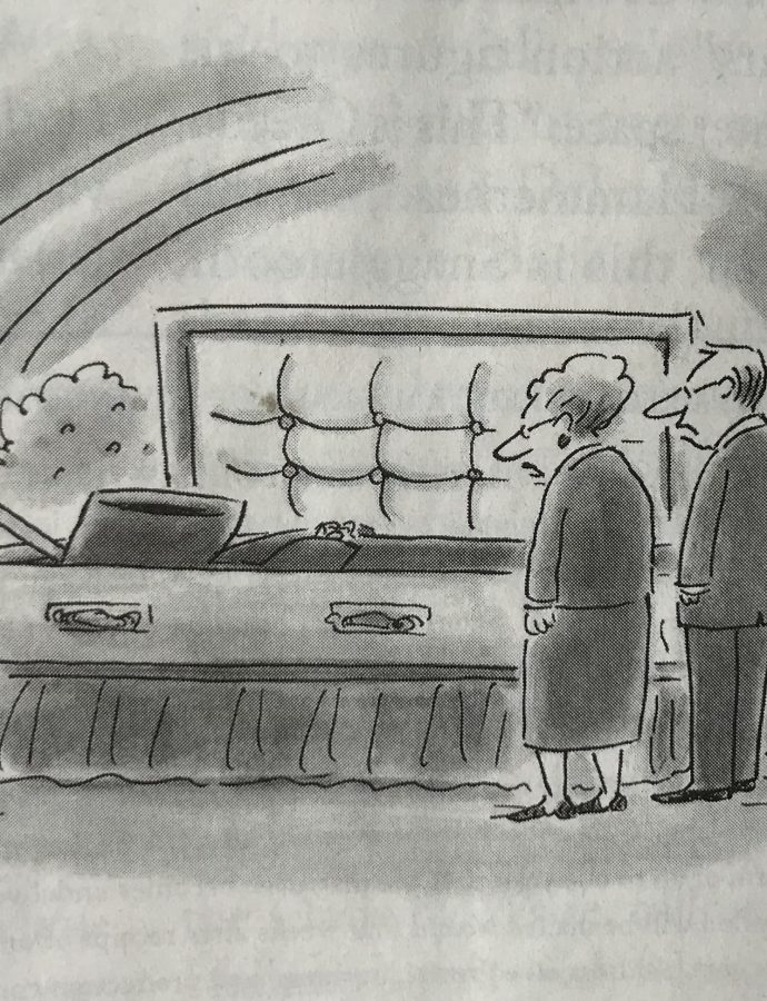 CARTOON CAPTION: Can you come up with a better caption ?